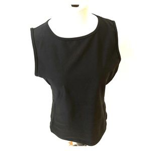 Lucy Black Workout tank top size large